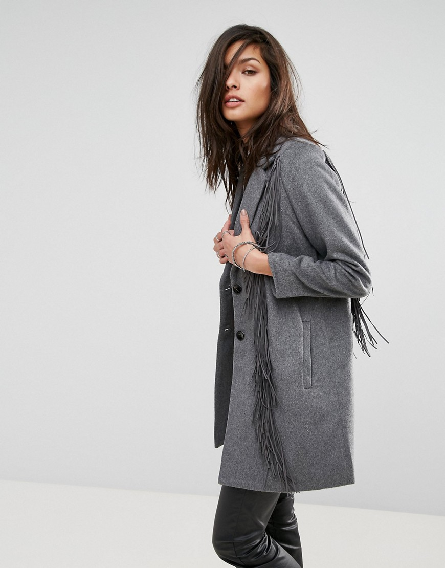 Religion Progression Coat - Grey