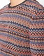 Image 3 of ASOS Lightweight Fairisle Jumper