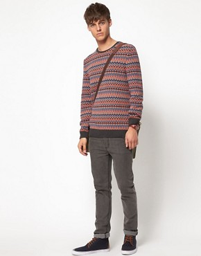 Image 4 of ASOS Lightweight Fairisle Jumper