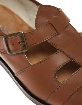 Image 2 ofASOS Monk Strap Cut Out Shoes