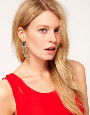 Image 2 ofOasis Tassel Drop Earrings