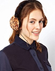 Warehouse Faux Fur Headphones and Ear Muffs