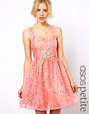 ASOS PETITE Exclusive Premium Prom Dress With Embellishment