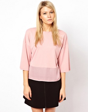 Image 2 ofASOS Top with Woven Back Tie