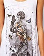 Image 3 ofReligion Praying Skeleton Vest