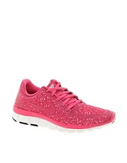 Nike &ndash; Free Running 5.0 V4 &ndash; Rosa Turnschuhe