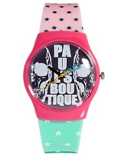 Paul&#39;s Boutique Star Print Watch