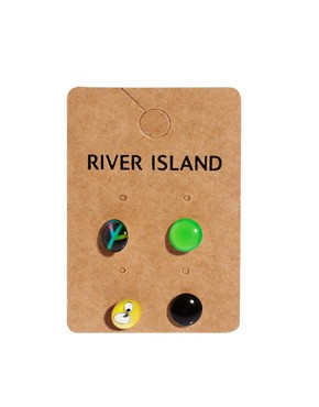 Image 3 ofRiver Island Earring Multi Pack