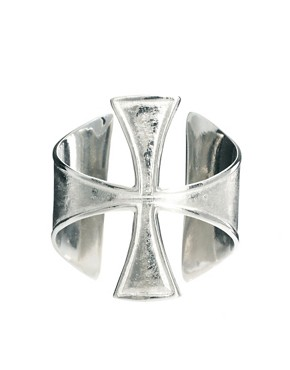 Image 4 ofASOS Gothic Cross Cuff Bracelet