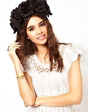 Rock 'N Rose Ophelia Oversized Floral Headband