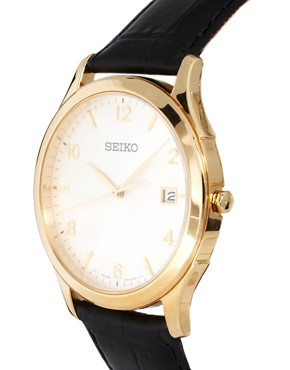 Image 3 ofSeiko Leather Strap Watch SGEE10P1