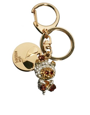 Image 1 ofLove Moschino Hippo Keyring