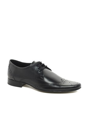 Image 1 ofASOS Brogues in Leather