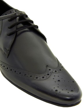 Image 2 ofASOS Brogues in Leather