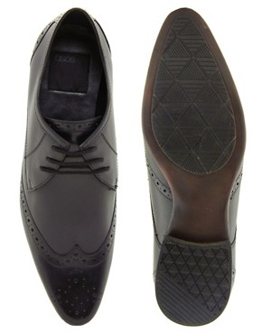 Image 3 ofASOS Brogues in Leather