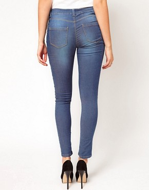 Image 2 ofASOS Maternity Skinny Jean In Supersoft Fabric With Stretch Waistband