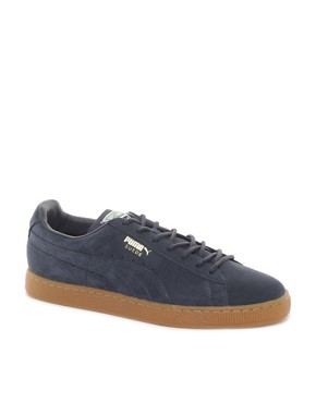 Image 1 ofPuma Suede Classic Trainers