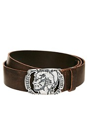 Diesel Burt Leather Belt