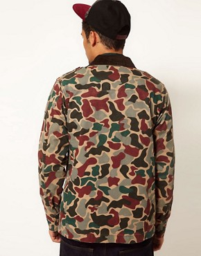 Image 2 ofAdidas Originals Camo Safari Jacket