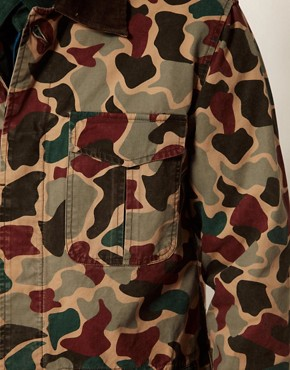 Image 3 ofAdidas Originals Camo Safari Jacket