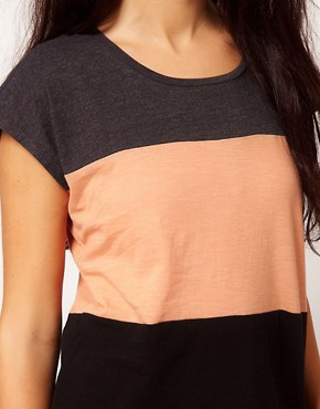 Image 3 ofRiver Island Colour Block T-Shirt