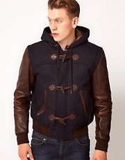 Schott Varsity Jacket wIth Toggle Fastening