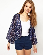 A Wear Printed Kimono