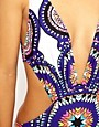 Image 3 ofMara Hoffman Deep V Cut Out Side One Piece