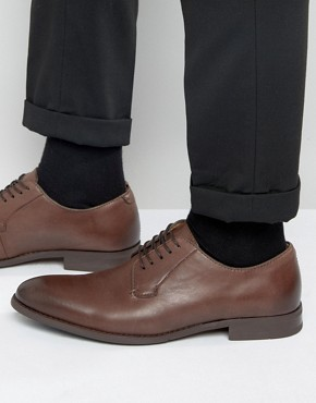 Aldo Taliesin Derby Shoes In Brown