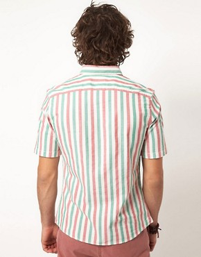 Image 2 ofASOS Stripe Oxford Shirt