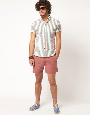 Image 4 ofASOS Stripe Oxford Shirt