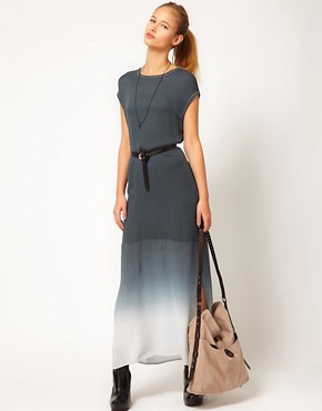 Image 4 ofSilent Damir Doma Dip Dye Woven Tunic Maxi
