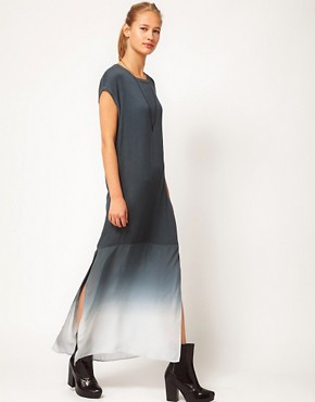 Image 1 ofSilent Damir Doma Dip Dye Woven Tunic Maxi