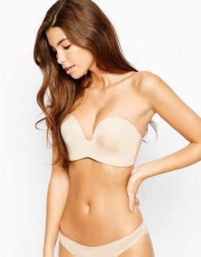 Image 1 ofWonderbra A-F Ultimate Strapless Padded Bra