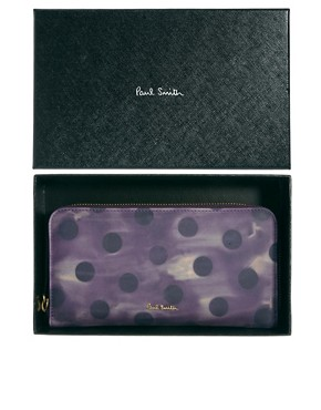 Image 3 ofPaul Smith Polka Leather Wallet