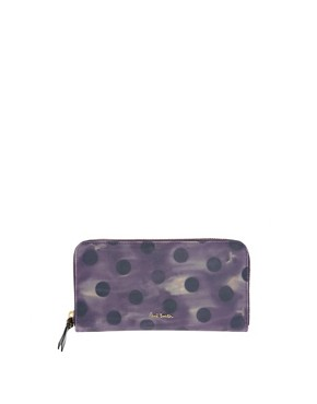 Image 1 ofPaul Smith Polka Leather Wallet