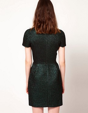Image 2 ofMarkus Lupfer Brocade Mini Dress