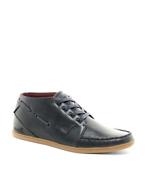 Image 1 ofBoxfresh Helm Leather Chukka Boots