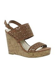 New Look Gerbera Cut Out Wedge Sandals