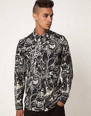 Love Moschino Printed Shirt