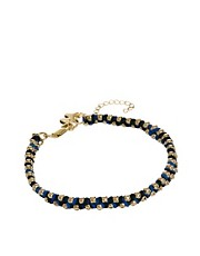 Whistles Multi Bead Cord Bracelet
