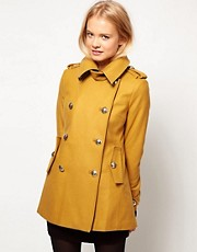 ASOS Reefer Military Coat