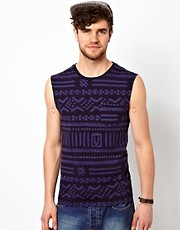 ASOS Vest With Aztec Print