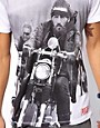 Image 3 ofWorn By T-Shirt with Hells Angels Print