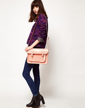 "Image 3 of Cambridge Satchel Company Exclusive to Asos 13"" Leather Satchel"