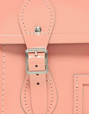 "Image 4 of Cambridge Satchel Company Exclusive to Asos 13"" Leather Satchel"