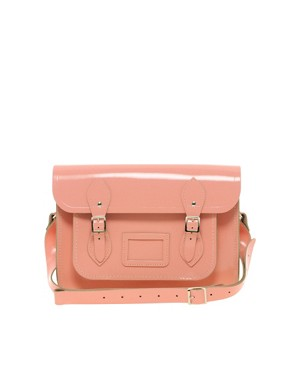 "Image 1 of Cambridge Satchel Company Exclusive to Asos 13"" Leather Satchel"