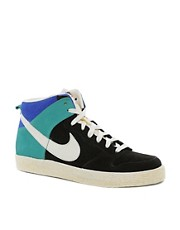 Nike Dunk High Suede Trainers