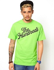 The Hundreds &ndash; Forever &ndash; T-Shirt mit schrgem Logo