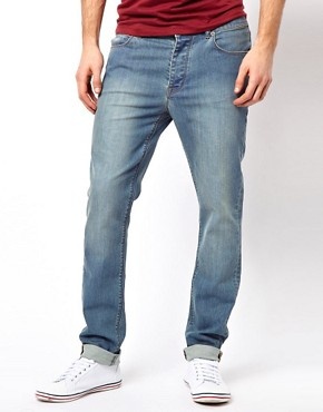 Image 1 ofASOS Skinny Jeans In Light Blue